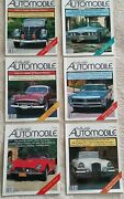 Lot Of Collectible Automobile Magazine First 6 Issues - Volume 1 Number 1-6