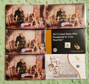 2007 2008 2009 2010 2012 2015 U.s Mint Presidential Dollar Coin Proof Sets 88