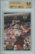 1992-93 Topps Stadium Club Shaquille Oand039neal 247 Rookie Rc Bgs 9.5 Sub 10 Center