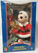 Animated Christmas Mickey Mouse Santa Claus Holiday Animation Mickey Unlimited