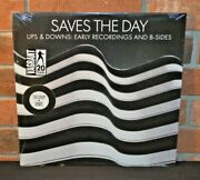 Saves The Day -ups And Downs Early Recordings And B Sides Ltd 180g Black Vinyl New