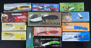 Lot Of 13 New Old Stock Frost Cutlery Pocket Knives Tactical Camping