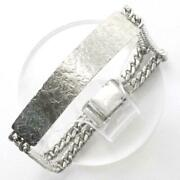 Jewelry Platinum Pt850 Bracelet About44g Free Shipping Used