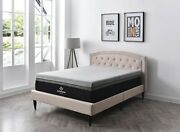 14 Queen Sapphire Sleep Thermic Cool Phase Hybrid New In Box Reg 4450