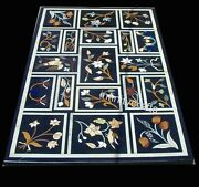 Ancient Crafts Inlaid Coffee Table Top Rectangle Hallway Table Size 36 X 60 Inch