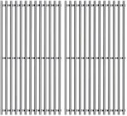 2 Pack 17.5 Inches Cooking Gas Grid Grates Replacement For Weber Gas Grills