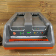 Hoover Ch90002 M-pwr 40v Dual Bay Charger For Hushtone Cordless Vacuums