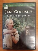 Jane Goodalls Return To Gombe 2005 Dvd Authentic Us Release Animal Planet