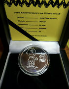Peanuts 1 Oz Proof Silver Round Coin 70th Anniversary Apmex Mintage Only 70