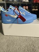 Virgil Abloh X Nike Off-white X Air Force 1 Low And03907 Mca Menand039s Size 7.5