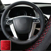 Protect Steering Wheel Cover Wrap For Honda Odyssey Pilot 14 15 8th Accord 08-12
