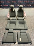 2013 Ford Mustang Gt Oem Coupe Grey Cloth Seats Front Rear -blown Bags-