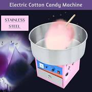 Electric Commercial Cotton Candy Machine Free Kids Party Carnival Sugar Home Tet