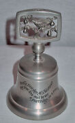 Crown And Rose Complete Set Of 12 Days Of Christmas Pewter Bells