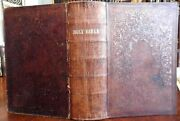 Holy Bible Old And New Testaments 1860 Civil War Era Large Leather Bound Bible