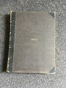 Rare Antique Ambia Book From The Late 1800andrsquos Musical Piano Notes