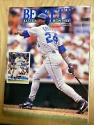 1993 Beckett Baseball Card Monthly Magazine Issue 95 February Ken Griffey Cover