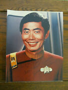 George Takei Sulu Autographed Hand Signed Star Trek Photograph - 8 X 10