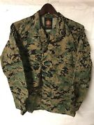 Usmc Issued Mccuu Woodland Marpat Camouflage Blouse Cammies Small Short Ss