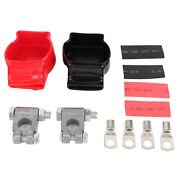 Battery Terminal Post Pair Of Connectors Kit For Car Marine Boat Rv Truck Atv