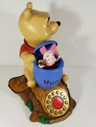 Disney Telemania Animated Winnie The Pooh Telephone - Working Motion And Sound