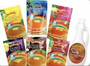 Hawaiian Sun Pack Of 6 Pancake Mixes 6 Oz Each And 1 Bottle Coconut Syrup 12.5 Oz