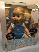 Luvabeau Interactive Boy Doll Speaks English And French Factory Sealed