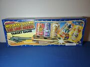 Tested 1990 Tin Can Alley Soda Can Target Shooting Batt-op Game Toy Vintage