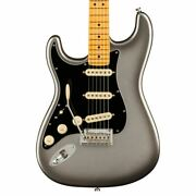 Fender American Professional Ii Stratocaster Left-handed Mercury Electric Guitar