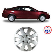 15 High Quality Abs Plastic Silver Universal Snap On Wheel Caps Covers 4pcs