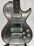Used Zemaitis Antanus Series A24mf Electric Guitar Hh W/hsc Free Shipping