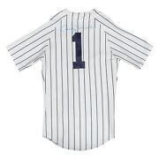 Billy Martin Signed Vintage 1970and039s New York Yankees Jersey With Jsa Coa