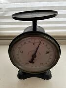 Antique Rare John Chatillon And Sons New York Scale W/labels Still Intact - Beauti
