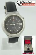 Vintage Omega Seamaster Eletronic F300 Hz 198 012 Cal.1250 Menand039s Watch