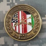 Tf Force Lancer 2-5 Cavalry Intrinsic Action 2001 Kuwait Military Challenge Coin