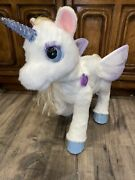 Fur Real Furreal Friends Star Lily My Magical Animated Light Up Unicorn Tested