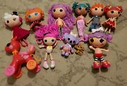 Huge Lot Of Fisher Price Lalaloopsy Dolls Large W Pets