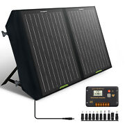 60w Watts 12v Foldable Solar Panel Kit For Power Station Battery Charge,laptop