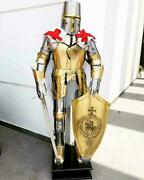 Medieval Knight Full Body Armour Antique Suit Of Armor Knights Halloween Costume