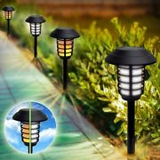 Bell + Howell Outdoor Solar Powered 2-in-1 Pathway And Garden Lights - 4 Pack