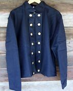 Civil War Unoun Reenactor Officers Double Breasted Shell Jacket 48