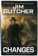 Changes By Jim Butcher 2010 1st Edition Hardcover Roc Dresden Files