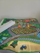Playmat With Tractors. New Never Used. Farm Scene.