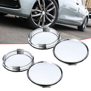 4pc 63mm Abs Wheel Center Hub Caps Cover Tyre Tire For Car Vehicle Rim Universal