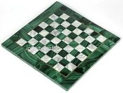 15 Inch Marble Game Table Top With Random Work Coffee Table Kids Room Furniture