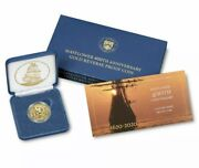 2020 Mayflower 400th Anniversary Gold Reverse Proof Coin Sold Out At Us Mint