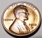 Coin - 1914-s Lincoln Cent - Full Wheat Lines Gem Eye Appeal