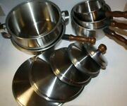 Vintage Ekco Old Hampshire House Cookware Set Never Used 10 Piece New Old Stock