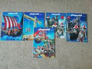 5 Old Playmobil Catologues