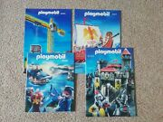 4 Old Playmobil Catologues